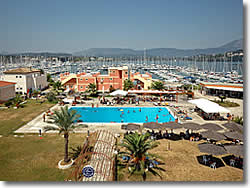 Full facilities available at Gouvia sailing boat marina