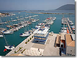 Lefkas charter base at Ionian