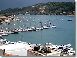 Skiathos island charter base at Sporades