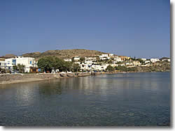 Syros island at Cyclades the Finikas beach