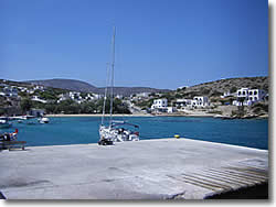 Agios Georgios bay - Heraklia (Iraklia) at Minor Cyclades