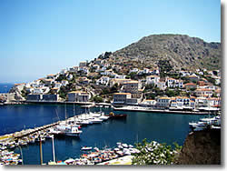 Saronic Golf - Hydra island