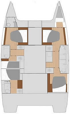 Fountaine Pajot - Saona 47, built 2018