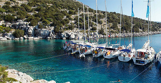 Flotilla charters in Athens