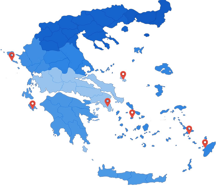 Chartetr Bases in Greece